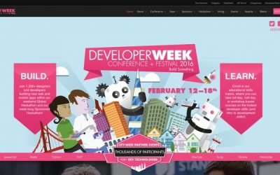 사이냅소프트, Developer Week 2016에 가다.