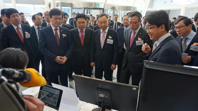'K-ICT 전략' 시연기술 전시회에서 사이냅소프트의 클라우드 오피스가 소개되었습니다.