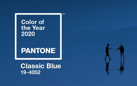 2020년 팬톤 컬러 '클래식 블루' 선정, 클래식은 영원하다